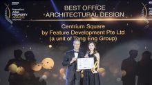 Centrium Square Wins Best Office Architectural Design Award 2018