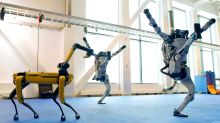 Robots hit the dance floor as Anderson Cooper goes behind-the-scenes at Boston Dynamics
