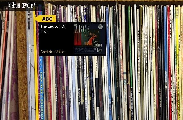 Browse John Peel's legendary record collection, travel back in time