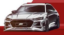 Neuer Audi RS 6 Avant mutiert bald zum bösen Abt RS6-R