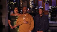 Eddie Murphy returns to 'Saturday Night Live' and brings Gumby, Buckwheat and Bill Cosby with him