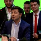 Comedian in Ukraine wins election