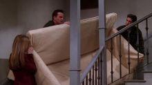 Para partirse de risa: Courteney Cox recrea una de las escenas más icónicas de Friends