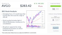 IBD Stock Of The Day: Broadcom Notches Record High After Long Recovery