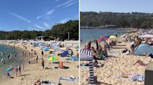 Urgent warning as disturbing images of packed beaches emerge
