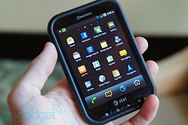 Pantech Pocket for AT&T hands-on at CTIA E&A 2011 (video)