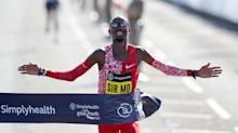 Great North Run: Mo Farah wins as Kenya's Brigid Kosgei breaks women's world record for half-marathon