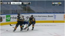 Ryan Reaves ejected from Golden Knights – Canucks Game 7 for hit on Motte