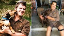 A Facebook Group Exists for All the Dogs UPS Drivers Have Befriended Along Their Routes
