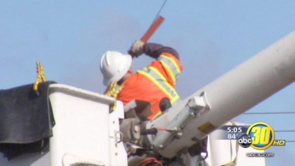 Valley PG&E workers head to the East Coast