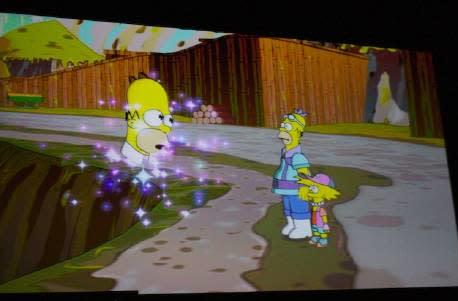 New Simpsons parody section includes Mr. Sparkle