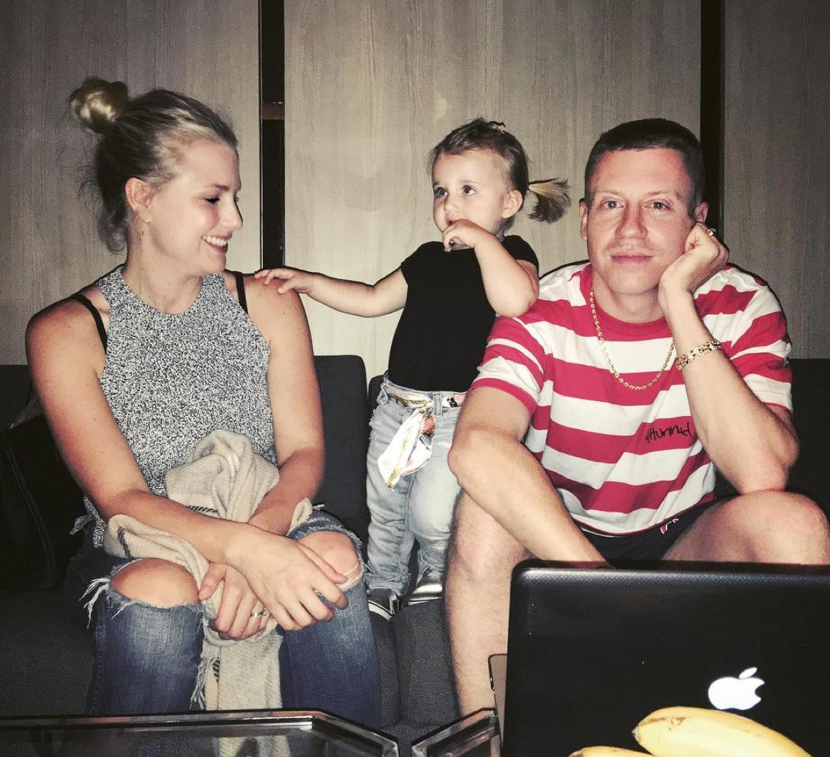 macklemore on taking his daughter away from screens: i don't want