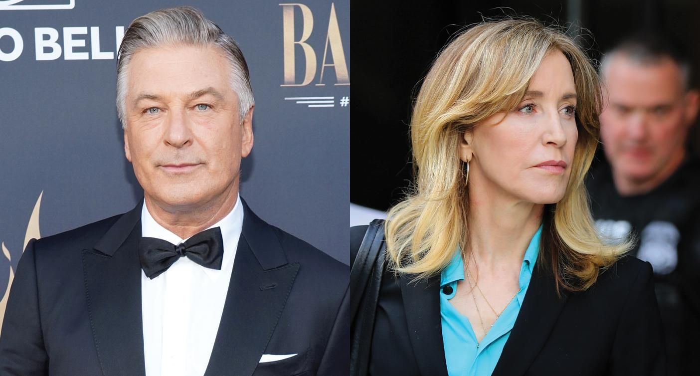 Alec Baldwin defends Felicity Huffman: 'The demonization of wealth in this country is mind blowing'