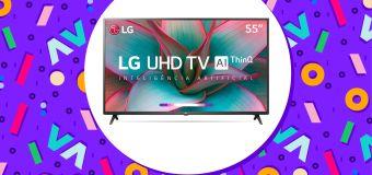 Essa Smart TV da LG está com 1.200 reais off!