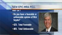New poll on Snyder and Obama