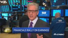 ETF Spotlight: Financials rally on earnings