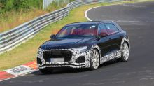 Audi RS Q8 spied lapping the 'Ring equipped with a cage and Recaros