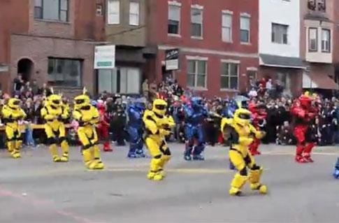17 Spartans bust a move at the Philly Mummers Parade