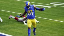 Rams hold off Giants 17-9; Ramsey, Tate fight after game