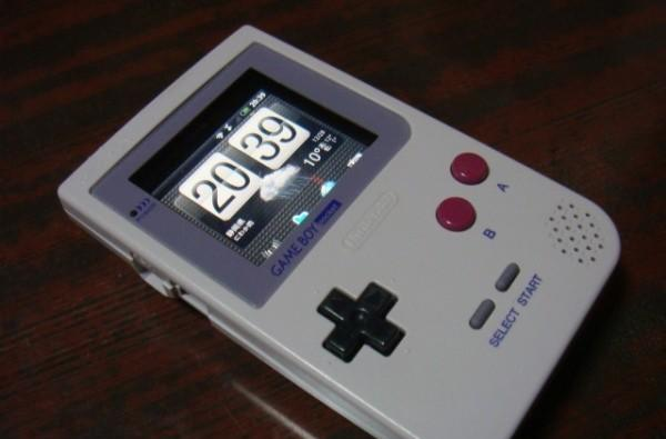 Game Boy, HTC Aria and fake iPhone 4 combined for your amusement, is also possibly art