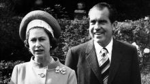 Richard Nixon meets the royals
