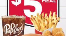 Giant Deal Alert: Wendy's Giant Jr. Bacon Cheeseburger $5 Meal Deal Returns