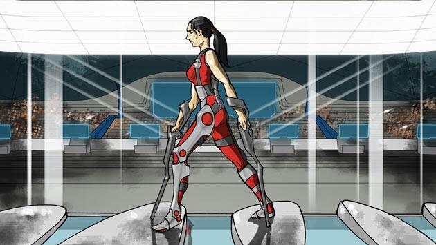 'Cyberathlon' will see disabled athletes compete in powered exoskeleton races