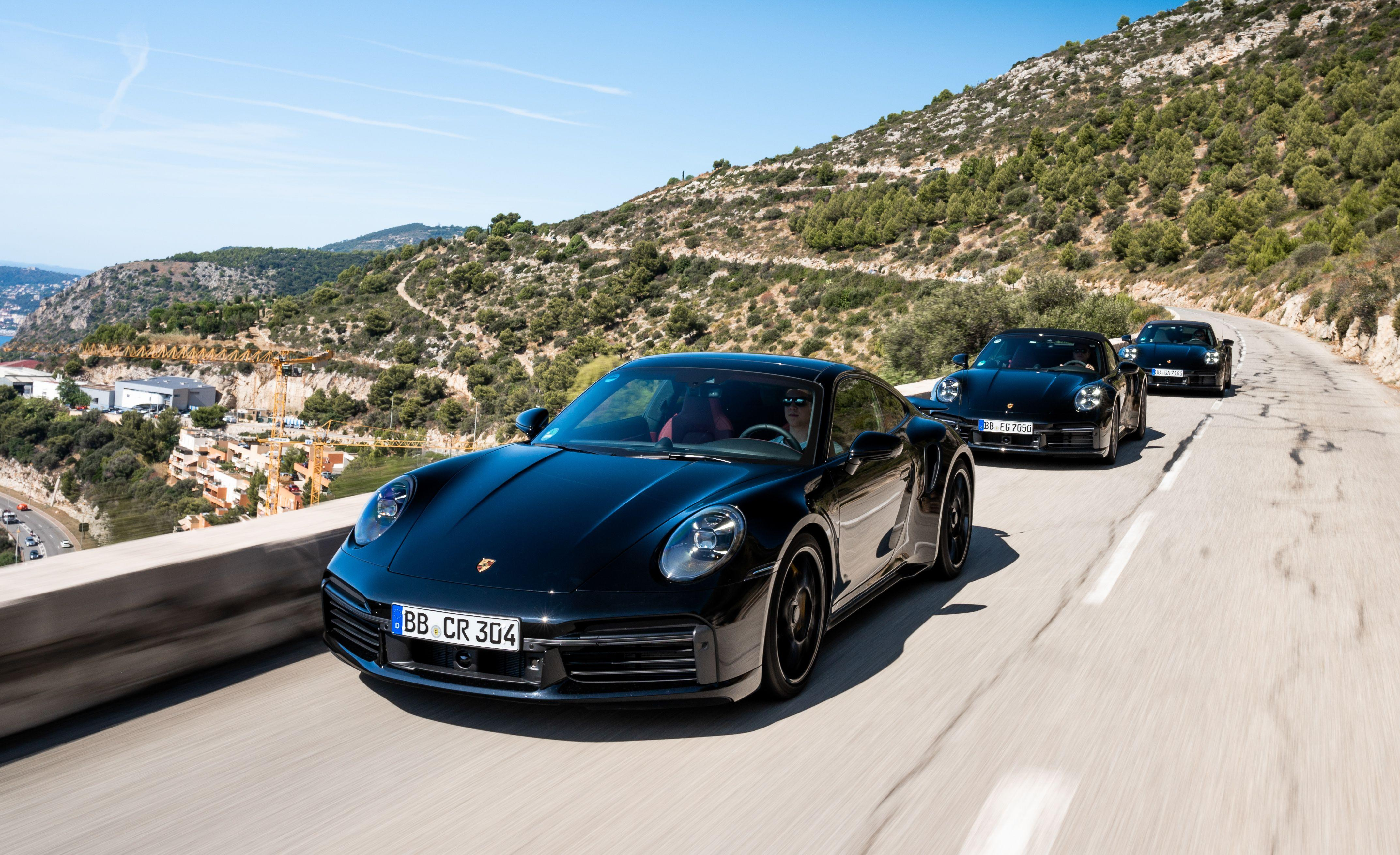 <p>Although the 2020 Porsche 911 Turbo S won't be officially announced until next spring, we recently rode in it in the mountains surrounding Nice, France, and Monaco. Bigger and heavier than before, it's also substantially more powerful and quicker. Read the full story here. </p>