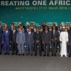 Africa agrees to giant trade bloc, but Nigeria, South Africa sit it out