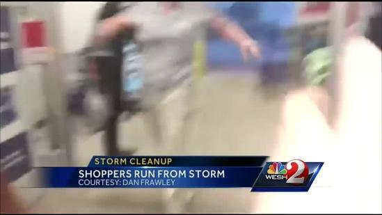 NWS investigating if tornado touched down in Florida