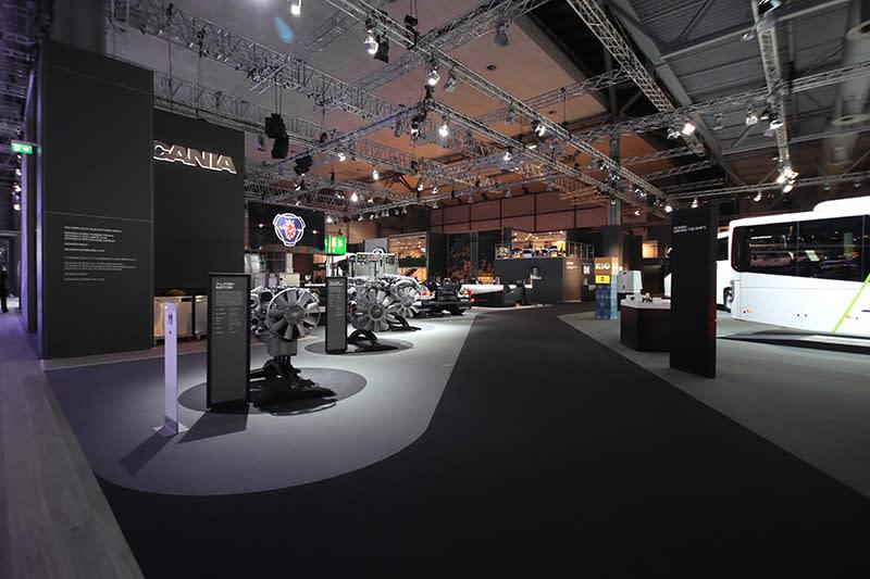 與VWCV同一展館裡,隔壁就是赫赫有名Scania的地盤。