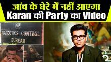 NCB Deputy DG confirms Karan Johar's party video not under probe