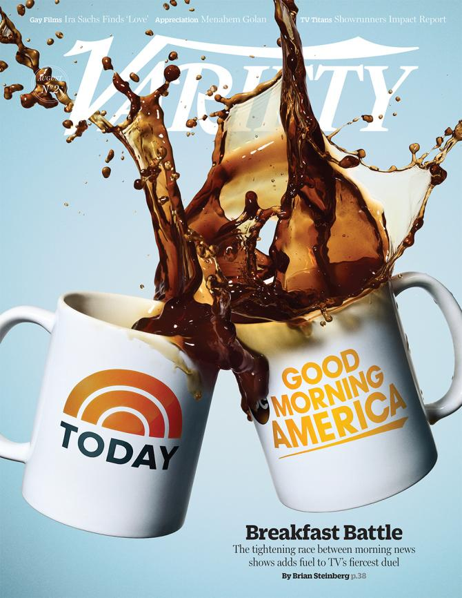 Good Morning America Segments Today : 'today vs 'good morning america news race
