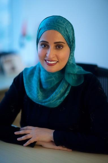 Ohoud al-Roumi, who was appointed as the United Arab Emirates' new state minister for happiness (AFP Photo/)