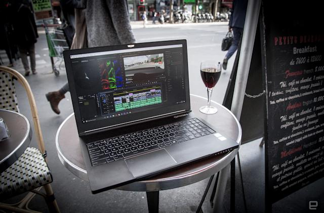 Origin's NT-15 Quadro is a slim laptop with pro video-editing power
