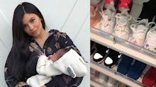 Stormi's Shoe Closet Is Impressive and ADORABLE