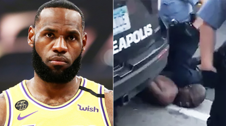 LeBron James speaks out against 'senseless' police brutality