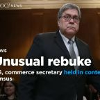House votes to hold AG Barr, commerce secretary in contempt of Congress over 2020 census citizenship question