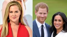 Amy Schumer Jokes About Stepping Down from 'Royal Duties' After Meghan and Harry's Bombshell Decision