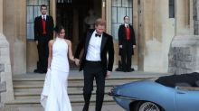 Meghan Markle Wore Multiple Wedding Dresses and the Second One Is Beautiful