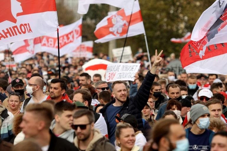 Tens of thousands of Belarusians have demonstrated weekly following the presidential election