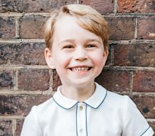Official portrait marks Prince George's fifth birthday