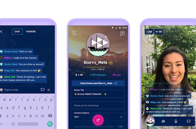 Microsoft's Twitch rival gives mobile streamers a new option