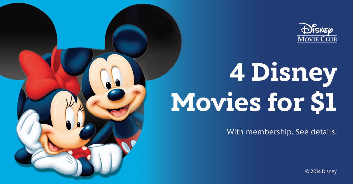 You'll Love This Disney Movie Club Offer!