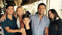 Kelly Ripa and Mark Consuelos Share Rare Family Pic With Their Growing Kids
