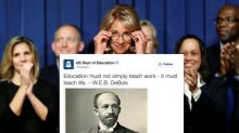 Dept. of Education apologizes for misspelling W.E.B. Du Bois