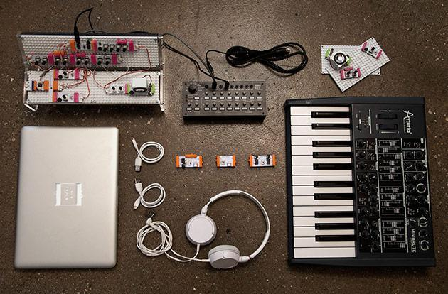 littleBits' synth kit plays nice with analog gear and audio software