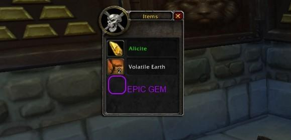 Gold Capped: Epic gems must be in patch 4.3