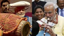 Birthday Special: From drums to flute, Narendra Modi has played it all