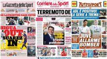 La Rassegna Stampa dei principali quotidiani sportivi italiani di venerdì 11 settembre 2020